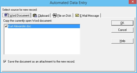 3 Building Your File By Creating Database Records From